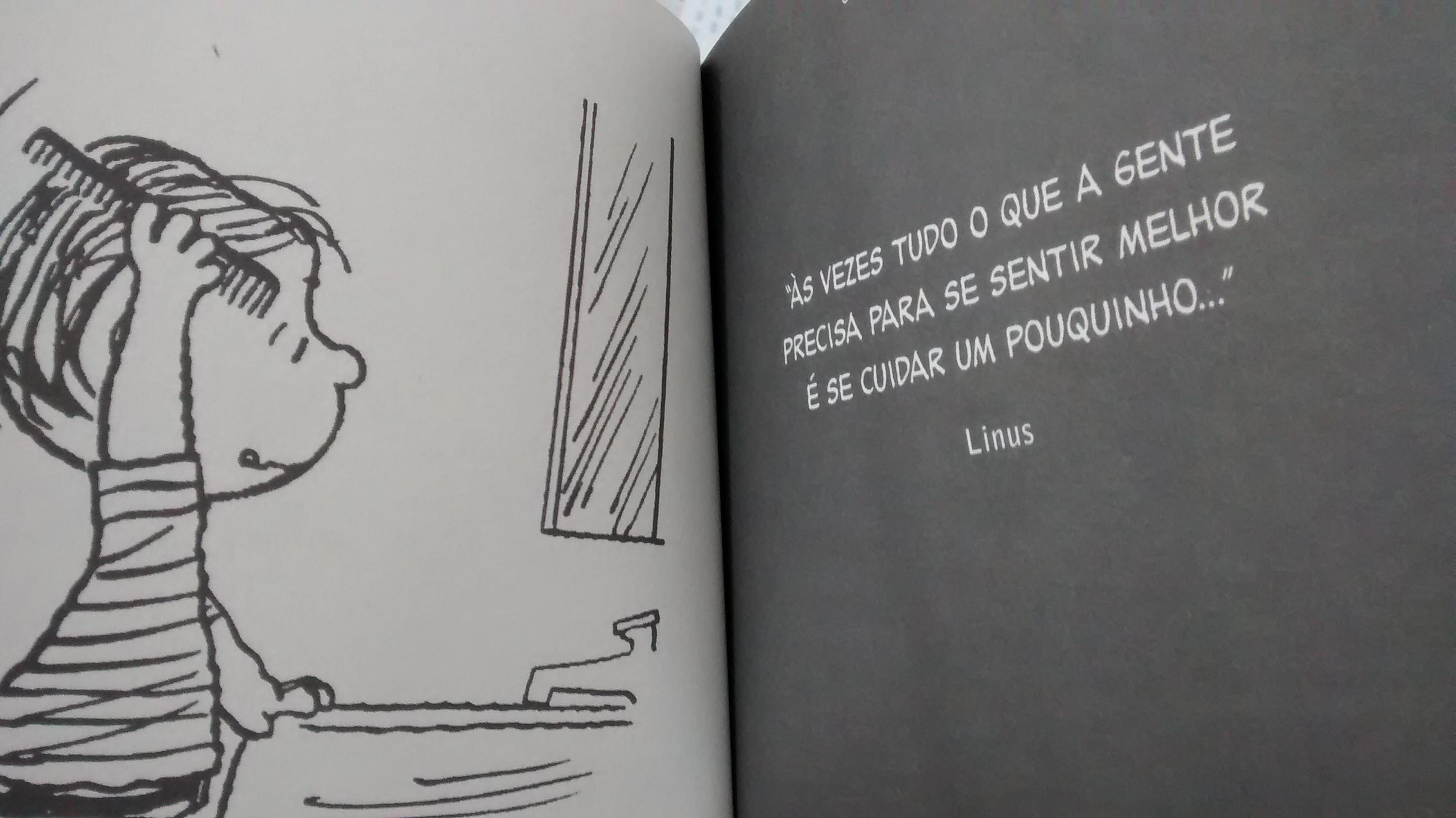 Dica do Linus #frasedasemana - Prateleira Sem Fim